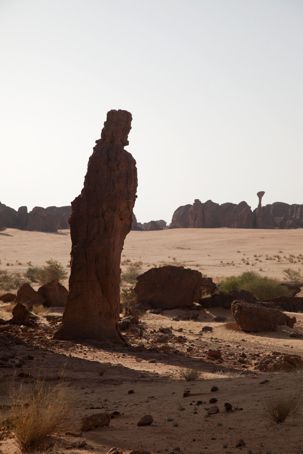 Picture of Abaike Tassili (Chad): Rock formation with resemblance of a religious statue