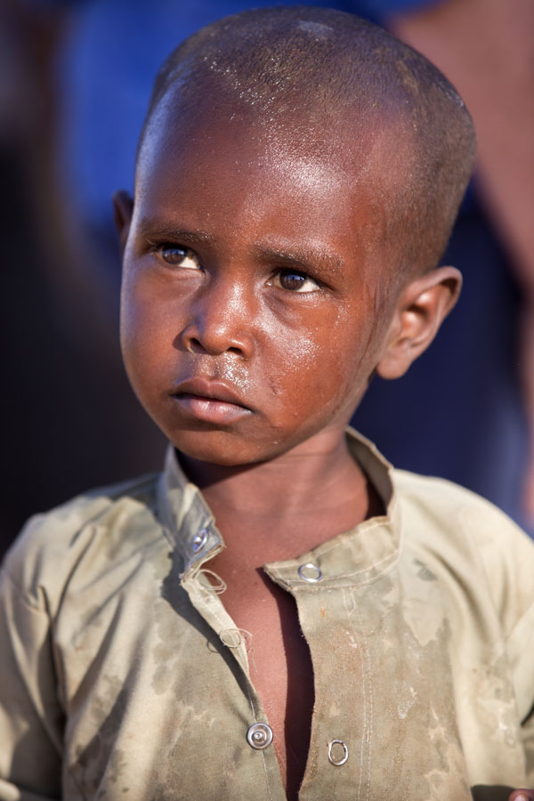 Picture of Boy in northeastern Chad