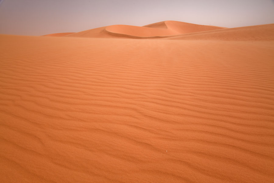 Picture of The unique pattern of ribbed sand constantly reshaped by the wind - Chad - Africa