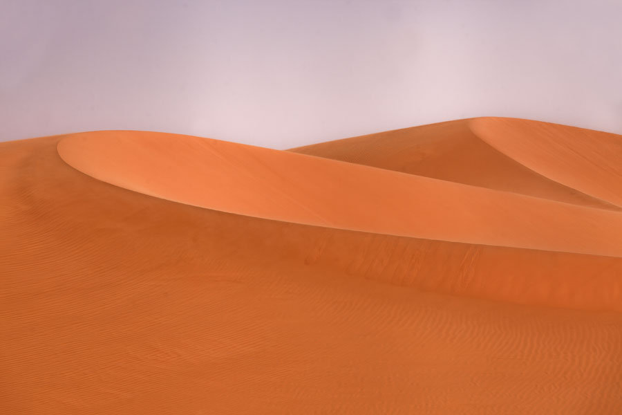 Picture of Curved sand dunes at Eyo demi