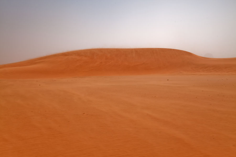 Picture of Eyo demi (Chad): Sand blowing over the desert