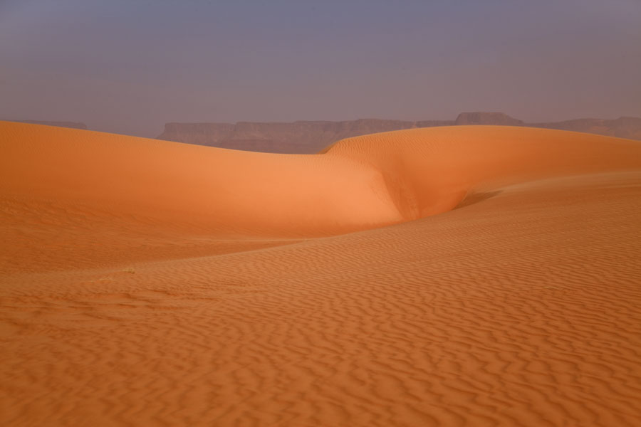 Picture of Eyo demi (Chad): Sand dunes at Eyo demi