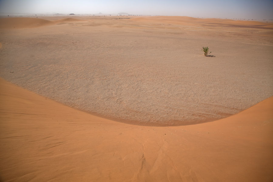 Photo de View from a sand duneKoraa - Tchad