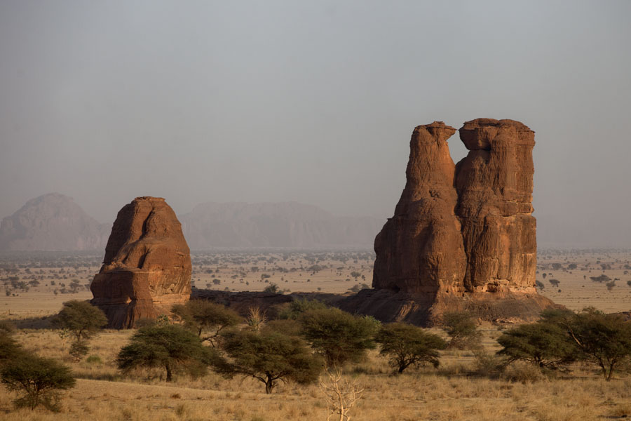 Picture of Terkei Kisimi (Chad): Some of the evocative rock formations at Terkei Kisimi