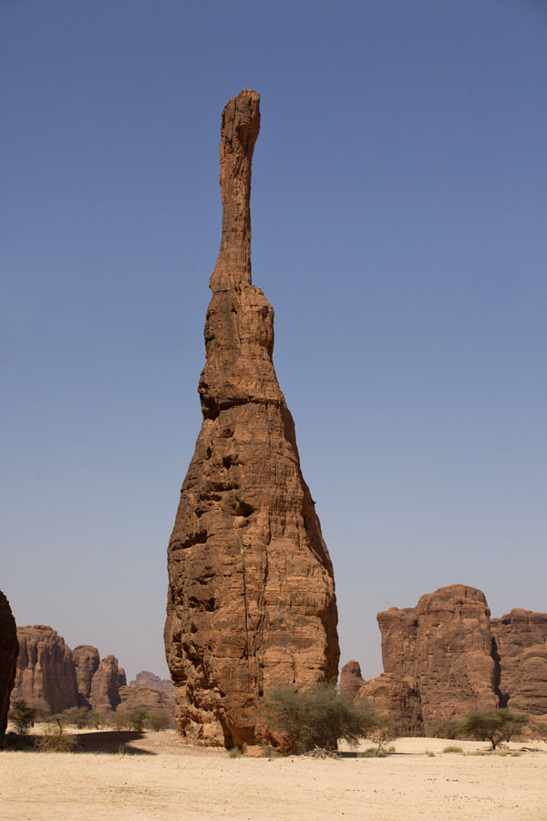 Picture of Bottle of Bamena, rock formation in Tokou resembling a wine bottle