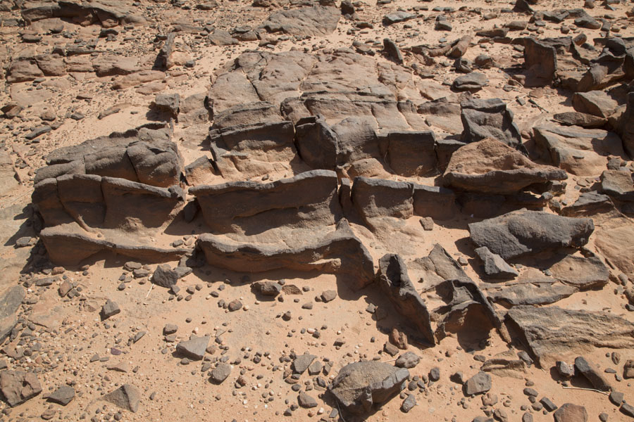 Picture of Remains of a volcanic tubeTokou massif - Chad