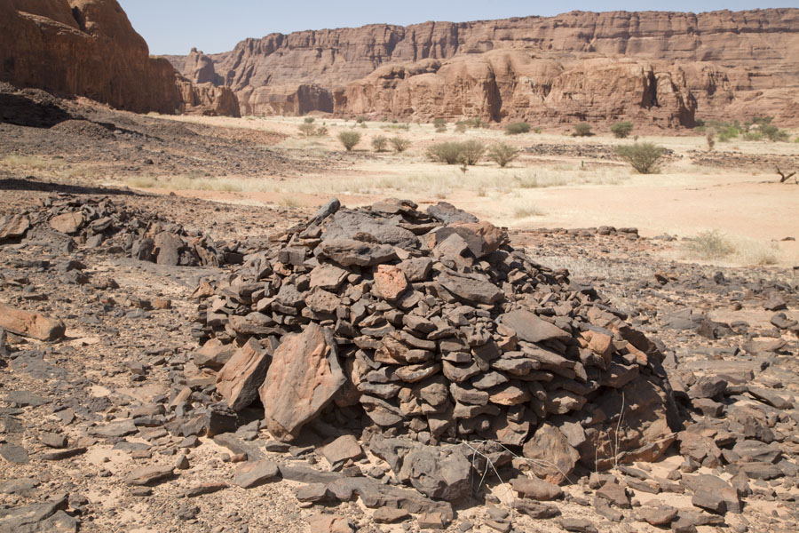 Pre-islamic tomb, part of the necropolis in the Tokou massif | Tokou massif | Chad