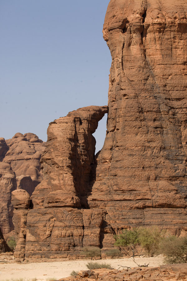 Rock formations near Tokou wells | Tokou wells | Chad