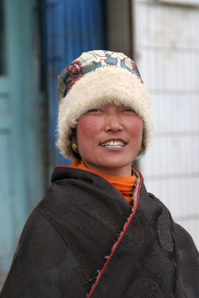 Amdo Tibetan woman | Amdo Tibetans | China