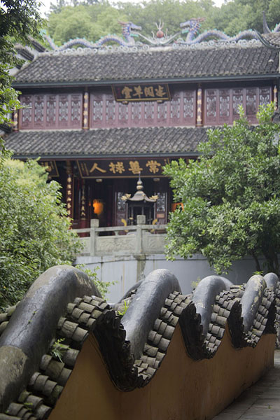 Photo de Wall of Baopu TempleHangzhou - Chine