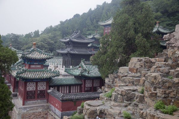 The Baoyun Bronze Pavilion on the south side of Longevity Hill | Summer Palace | 中国