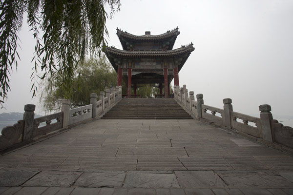 Foto van The Silk Bridge on the West CausewayBeijing - China