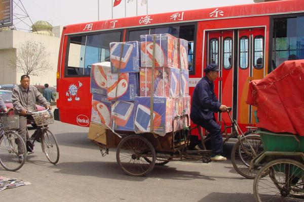 Computer transportation | Fietsen in China | China