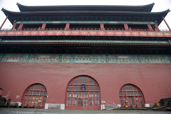 Looking at the Drum Tower from the north side | Drum tower | 中国