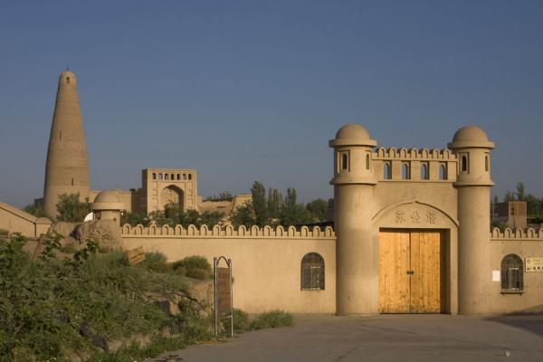 Picture of Emin minaret (China): Entrance of the compound in which Emin minaret is located