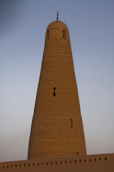 Picture of Emin minaret (China): Evening light on Emin minaret