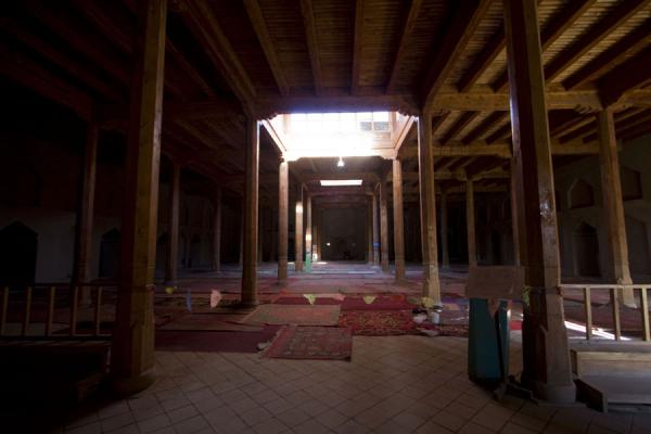 Interior view of Emin mosque | Emin minaret | China