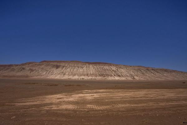 Picture of Flaming Mountains seen from a distance