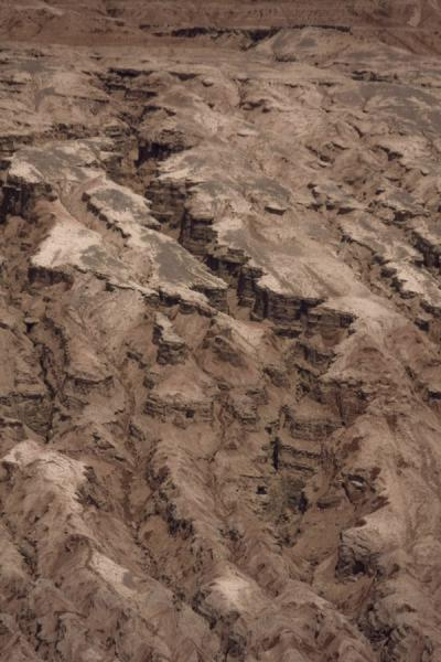 Close-up of a trench of the Flaming Mountains | Flaming Mountains | China