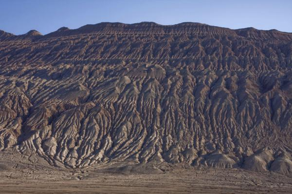 Picture of Flaming Mountains (China): Shadows over the Flaming Mountains in the early morning