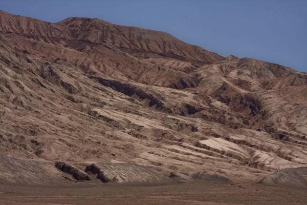 Picture of Flaming Mountains (China): Trenches running down the Flaming Mountains