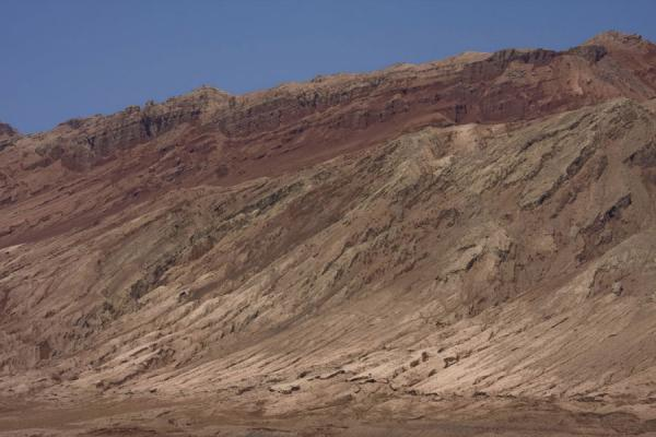 Picture of Flaming Mountains (China): Rough surfaces are typical of the Flaming Mountains