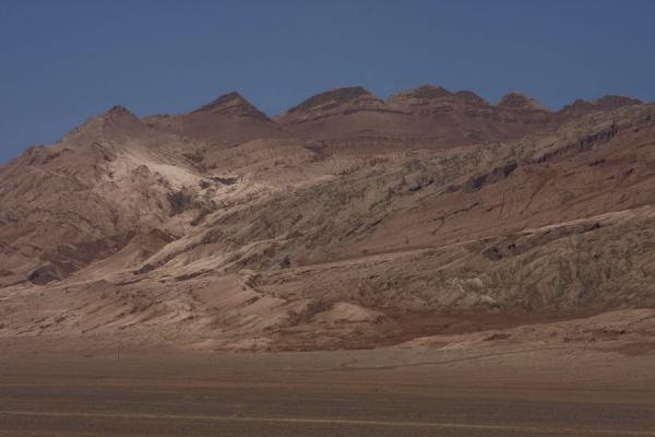Picture of Flaming Mountains (China): Flaming Mountains rising out of the plains