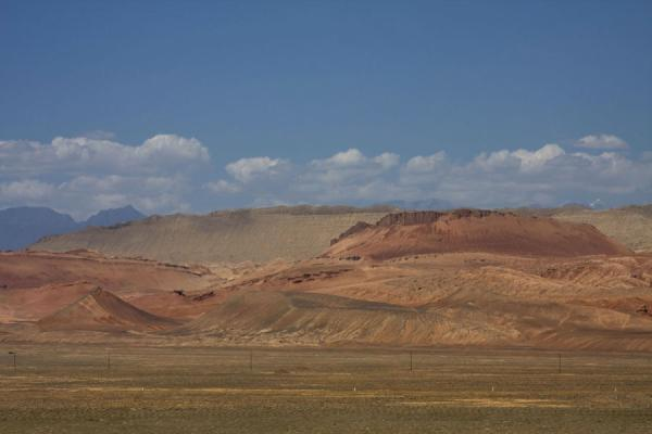 The Flaming Mountains seen from a distance | Flaming Mountains | China