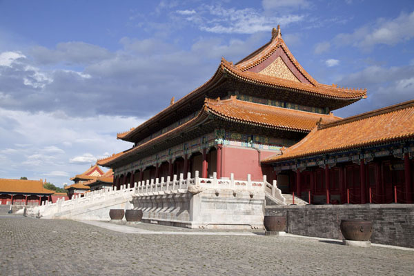 Picture of The Gate of Supreme Harmony in the afternoonBeijing - China