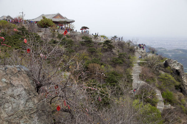 Picture of View of Incense Burner Peak, the highest point of Fragrant HillsBeijing - China