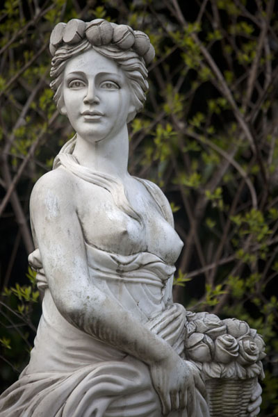 Picture of Statue of European lady in Fuxing parkShanghai - China