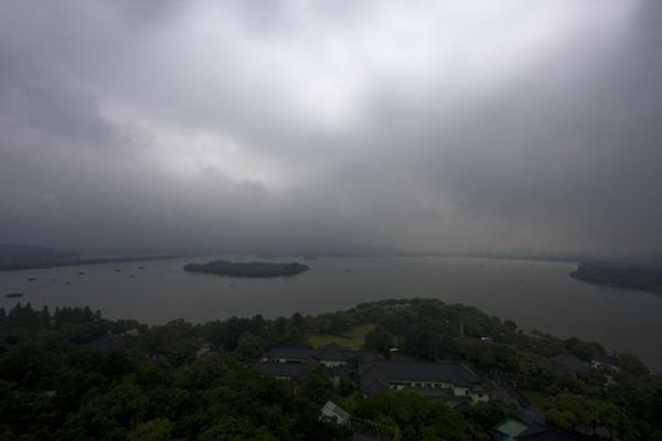 Picture of View from Leifeng Pagoda: the West Lake seen from the south