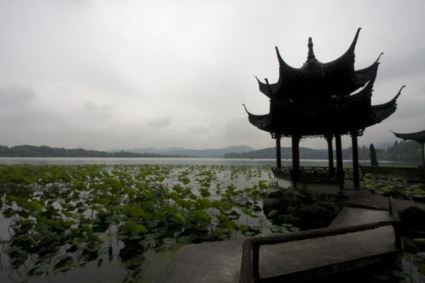 Picture of One of the many vantage point to observe the West Lake