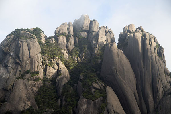 Lotus Peak, the highest point of the Yellow Mountains | Huangshan Mountains | China