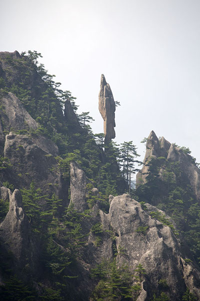 Rock formation in the West Sea of the Yellow Mountains | Huangshan Mountains | China