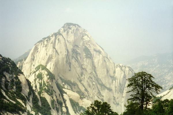 Looking over the Huashan Mountain | Huashan Mountain | China