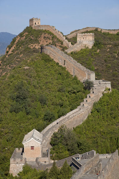 Picture of Jinshanling Great Wall (China): The western section of the Great Wall at Jinshanling