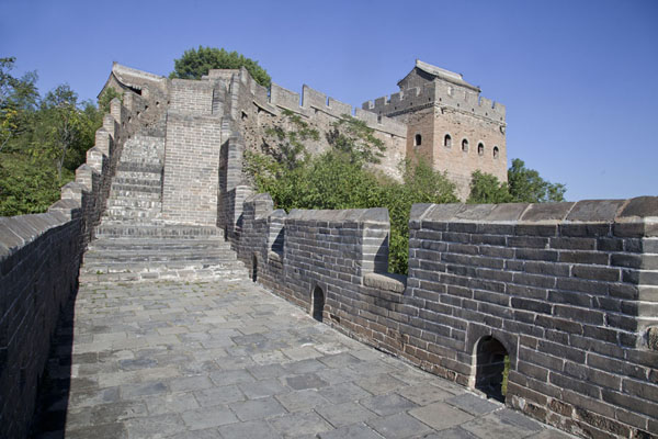 Picture of Jinshanling Great Wall (China): Restored section of the Great Wall of Jinshanling