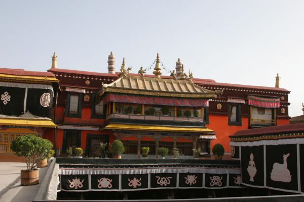 Picture of Jokhang temple: one part of this most sacred complex