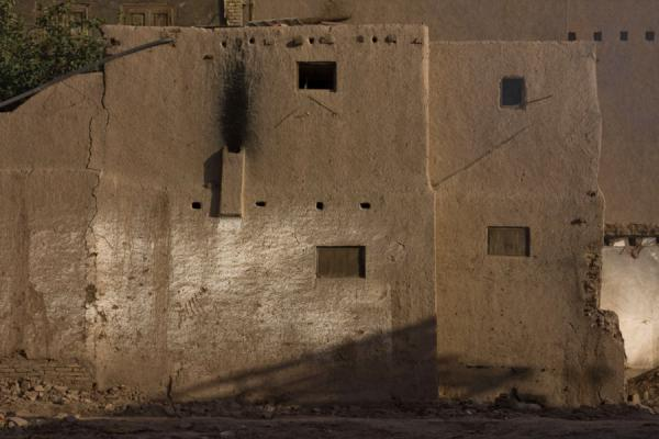 Picture of Typical adobe house in the old town of Kashgar - China - Asia