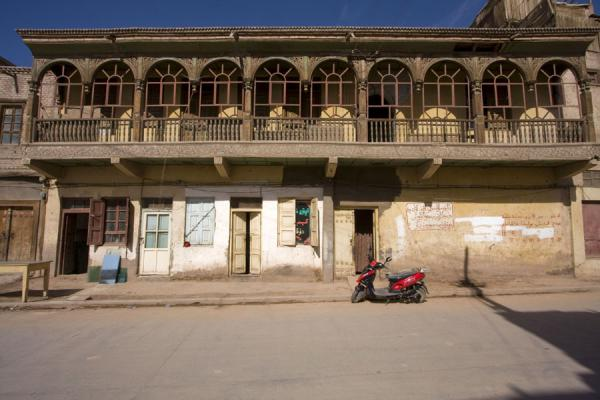 Picture of Old house with balcony in the old town of Kashgar