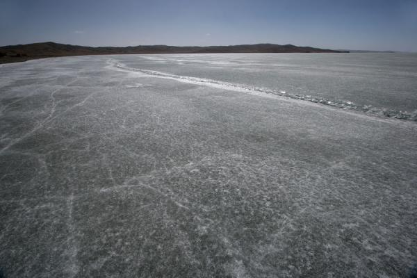 Ice on Lake Ngoring | Ngoring Lake | China