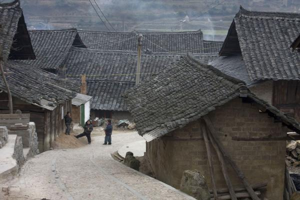 Street and traditional houses in Matang | Matang Village | China