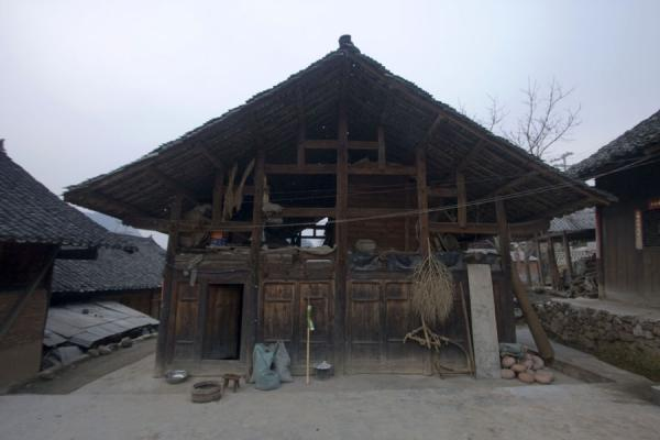 Picture of Matang Village (China): Wooden house in the traditional Gejia village of Matang