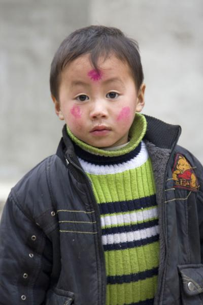 Picture of Matang Village (China): Young boy in Matang
