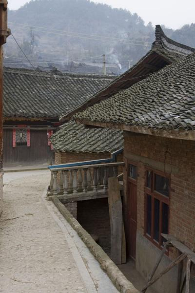 Street in Matang with traditional houses | Matang Village | China