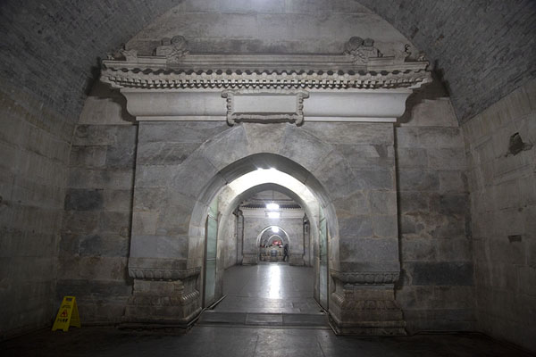 Wing of the underground palace of Dingling | Ming tombs | China