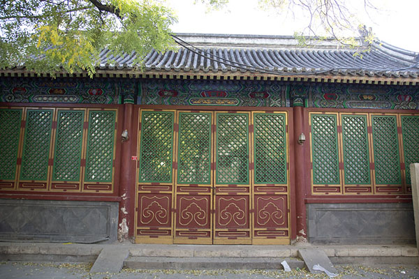 Foto van Wooden buildingBeijing - China