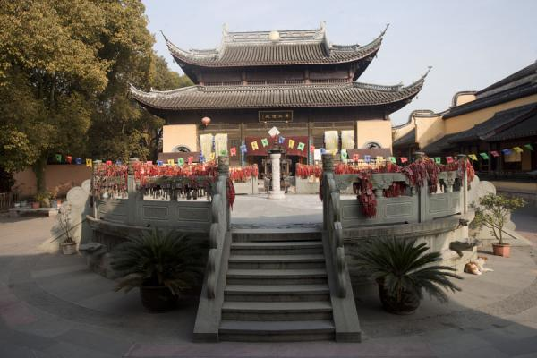 Picture of Guanghui Taoist temple in the ancient town of Nanxun - China - Asia