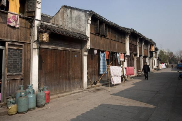 Picture of Traditional houses on East Street in Nanxun - China - Asia